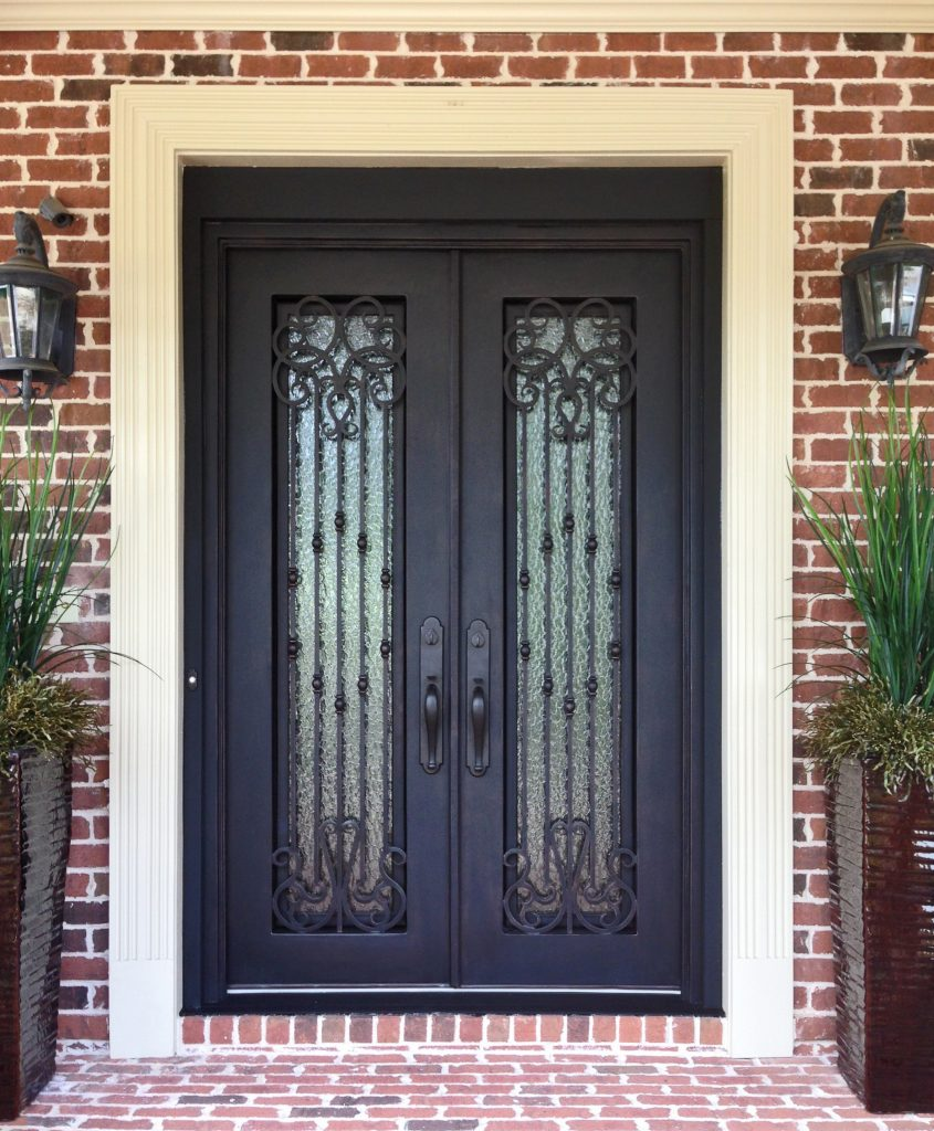 Wrought Iron Entry Systems In Atlanta Ga Jennifers Glass Works